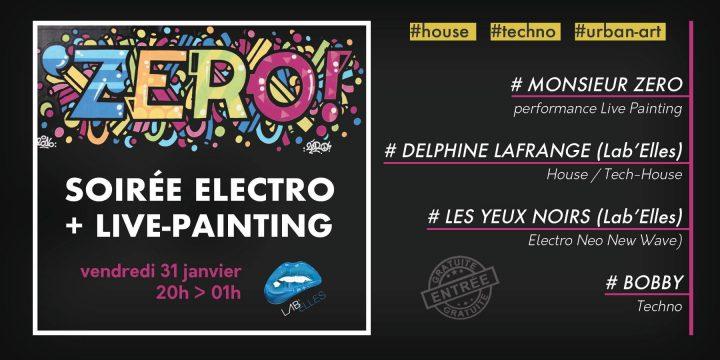 VENDREDI 31 JANVIER, LES YEUX NOIRS & DELPHINE LAFRANGE @ PIANO ZEBRE (Etoile 26)