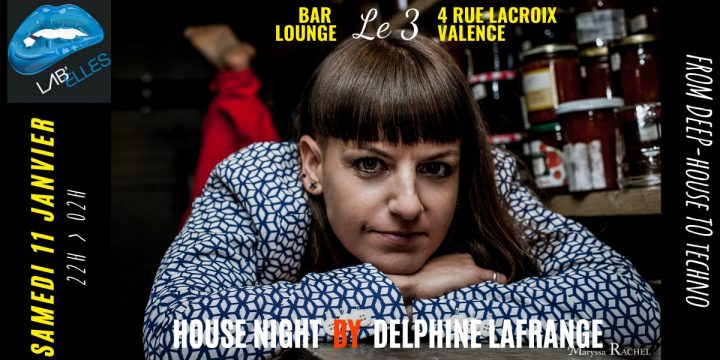 SAMEDI 11 JANVIER 2020, DELPHINE LAFRANGE (Lab'Elles) @ BAR LE 3 (Valence 26)