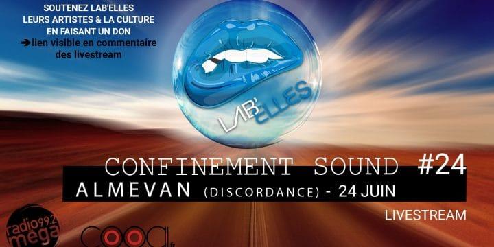 CONFINEMENT SOUND, LIVESTREAM du 01.04 au 28.06