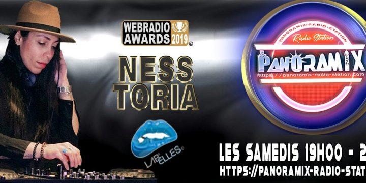 SAMEDI 19 DECEMBRE, NESS TORIA (Lab'Elles) @ Panoramix radio