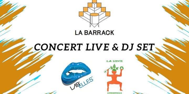 LUNDI 21 JUIN, DELPHINE LAFRANGE @ La Barrak (Valence 26)